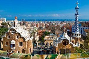 ciudad de Antoni Gaudi
